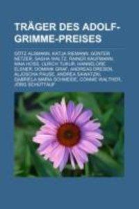 Träger Des Adolf-Grimme-Preises
