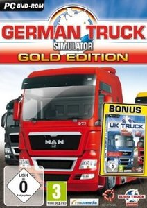 German Truck Simulator: Gold-Edition DVD