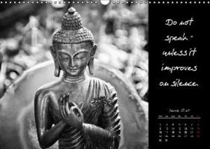 Words of Buddha 2015 (Wall Calendar 2015 DIN A3 Landscape)