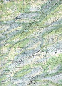 Swisstopo 1 : 25 000 Bellelay