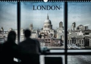 Dynamic LONDON (Wall Calendar 2015 DIN A3 Landscape)