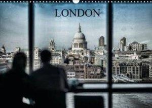 Dynamic LONDON (Wall Calendar 2015 DIN A3 Landscape)