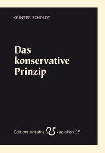 Das konservative Prinzip