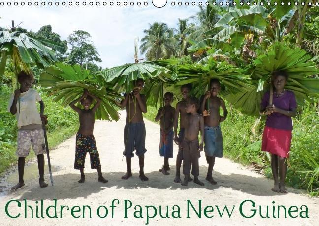Children of Papua New Guinea (UK Version) (Wall Calendar 2015 DI - zum Schließen ins Bild klicken