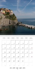 Cinque Terre - The Five Lands of Liguria (Wall Calendar 2015 300