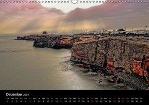 LANZAROTE Masterpieces of Volcanoes (Wall Calendar 2015 DIN A3 L