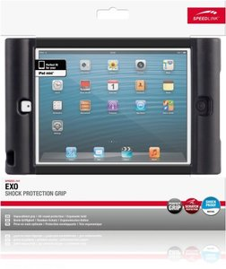 Speedlink SL-7080-BK Exo Shock Protection Grip für Apple iPad mi
