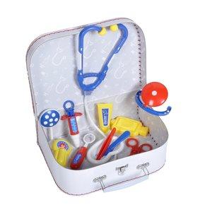Knorrtoys F15410 - Arztkoffer für Kinder, 18-teilig