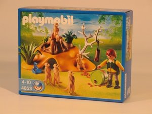 PLAYMOBIL® 4853 - Erdmännchenkolonie