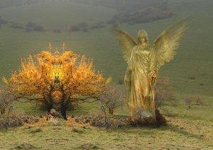 Engel und Elfen begleiten Dich (Posterbuch DIN A2 quer)