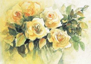 Blütenzauber in Aquarell ECKARD FUNCK (Posterbuch DIN A4 quer)