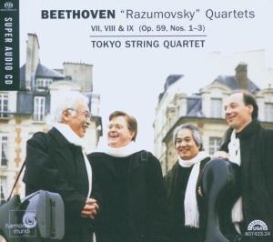 Razumovsky Quartets op.59,1-3