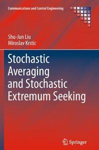 Stochastic Averaging and Stochastic Extremum Seeking