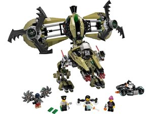 LEGO® Lego Agents 70164 - Hurrikan Überfall