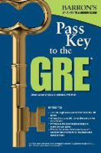 Pass Key to the GRE, 9th Edition