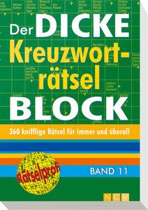 Der dicke Kreuzworträtselblock 11