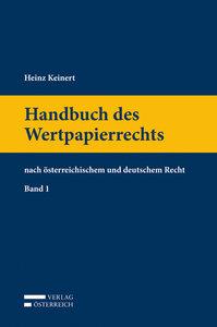 Handbuch des Wertpapierrechts
