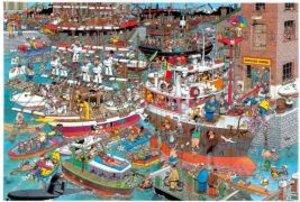 Verrückter Hafen. Puzzle 1500 Teile