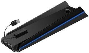 Ladestation Dual Stand mit USB Multi Hub 4-fach