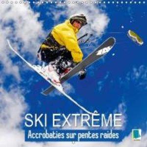 Ski Extreme : Acrobaties Sur Pentes Raides