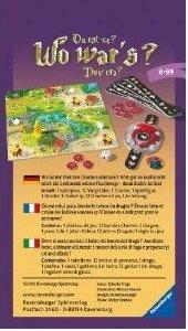 Ravensburger 23316 - Wo wars? Mitbringspiel