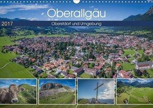 Oberallgäu - Oberstdorf und Umgebung (Wandkalender 2017 DIN A3 q