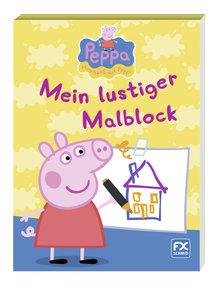 Peppa - Mein lustiger Malblock