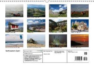 Northwestern Spain (Wall Calendar 2015 DIN A3 Landscape)