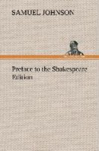 Preface to the Shakespeare Edition