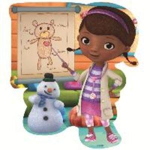 Disney Doc McStuffins 4in1 Badepuzzle - 2/3/3/4 Teile