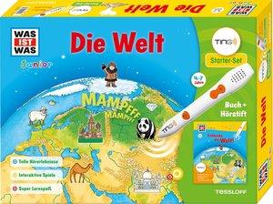 Was ist was Ting-Starter-Set Die Welt. Kinderbuch und Hörstift