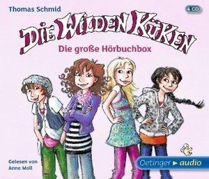 Die Wilden Küken - Die große Hörbuchbox (4 CD)
