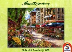 Schmidt Spiele 58561 - Paris: Blumenmarkt, 1000 Teile Puzzle