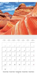 Deserts - Barren beauty (Wall Calendar 2015 300 × 300 mm Square)