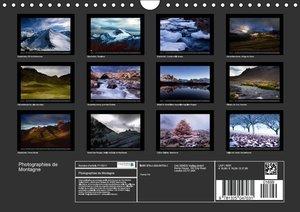 Photographies de Montagne (Calendrier mural 2015 DIN A4 horizont