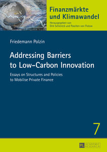 Addressing Barriers to Low-Carbon Innovation