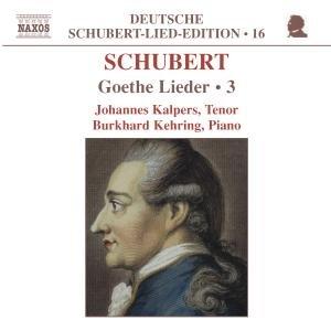 Goethe-Lieder Vol.3