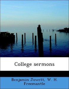 College sermons