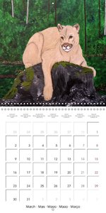 Wilkie Fine Art Canada (Wall Calendar 2015 300 × 300 mm Square)