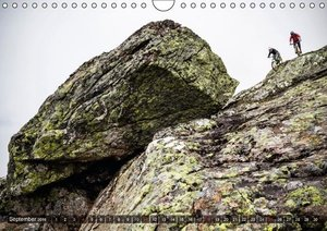Mountain Bike 2016 by Stef. Candé / UK-Version (Wall Calendar 20