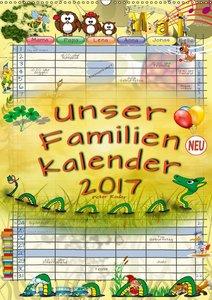Unser Familienkalender 2017