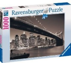 Ravensburger 15835 - Manhattan mit Brooklyn Bridge, 1000 Teile P