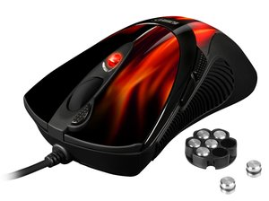 Sharkoon FireGlider - Gaming Mouse (Lasermaus)