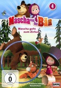 Mascha und der Bär: 04/Mascha geht zum Zirkus