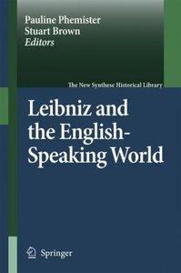 Leibniz and the English-Speaking World