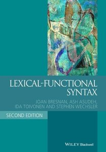 Lexical Functional Syntax
