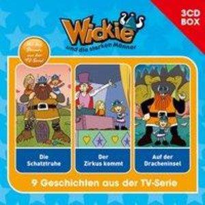 Wickie Wickie - 3-CD Hörspielbox Vol. 4