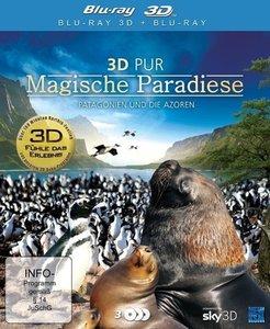 3D Pur - Magische Paradiese - Patagonien und die Azoren