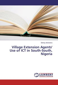 Village Extension Agents\' Use of ICT in South-South, Nigeria
