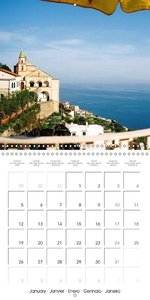 The magic of the Amalfi Coast (Wall Calendar 2015 300 × 300 mm S